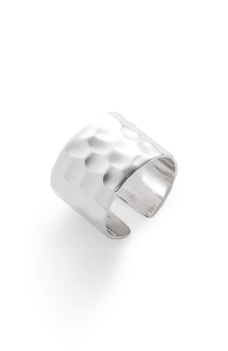 LISA FREEDE Adjustable Cigar Band Ring, Main, color, 040