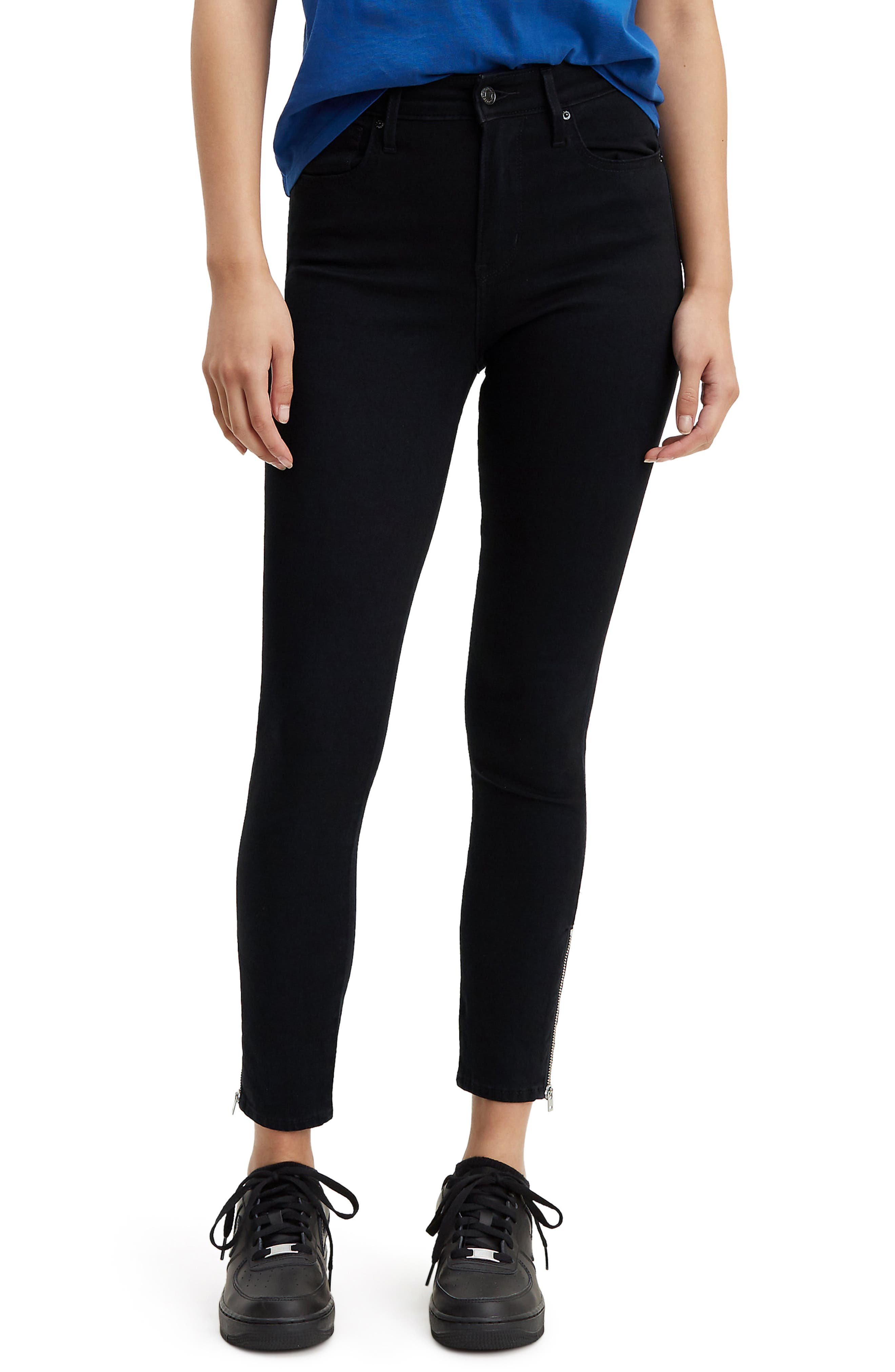 721<sup>™</sup> Altered High Waist Ankle Skinny Jeans, Main, color, LONG SHOT