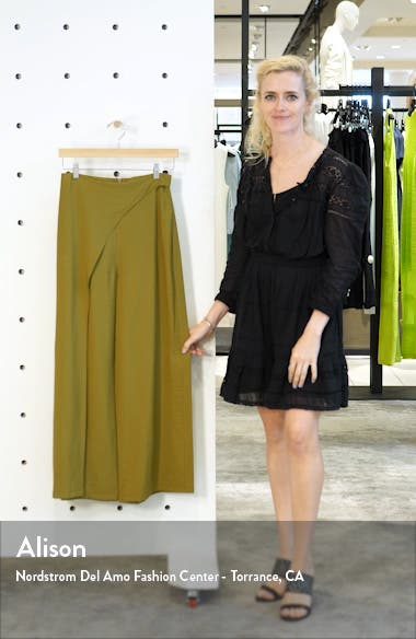 Slash Cropped Palazzo Trousers, sales video thumbnail