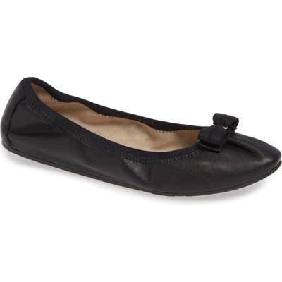 Salvatore Ferragamo My Joy Ballet Flat - Black