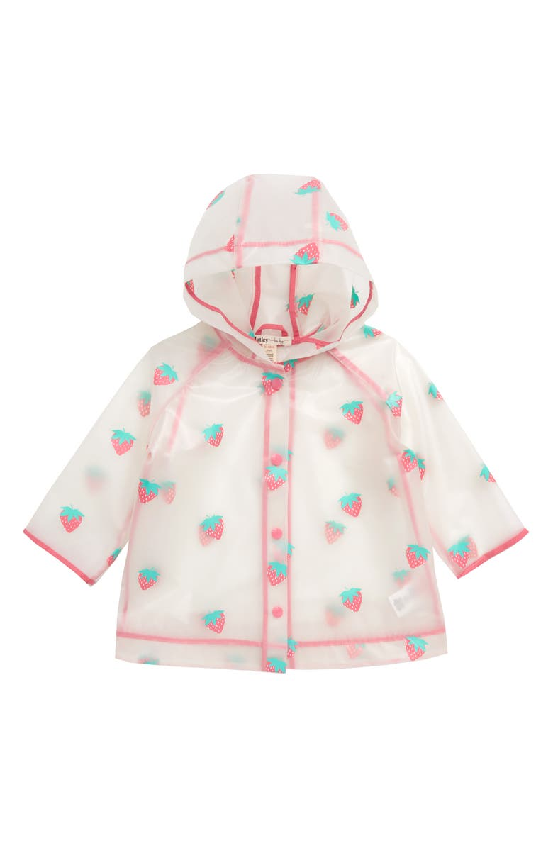 HATLEY Cool Treats Clear Waterproof Raincoat, Main, color, 651