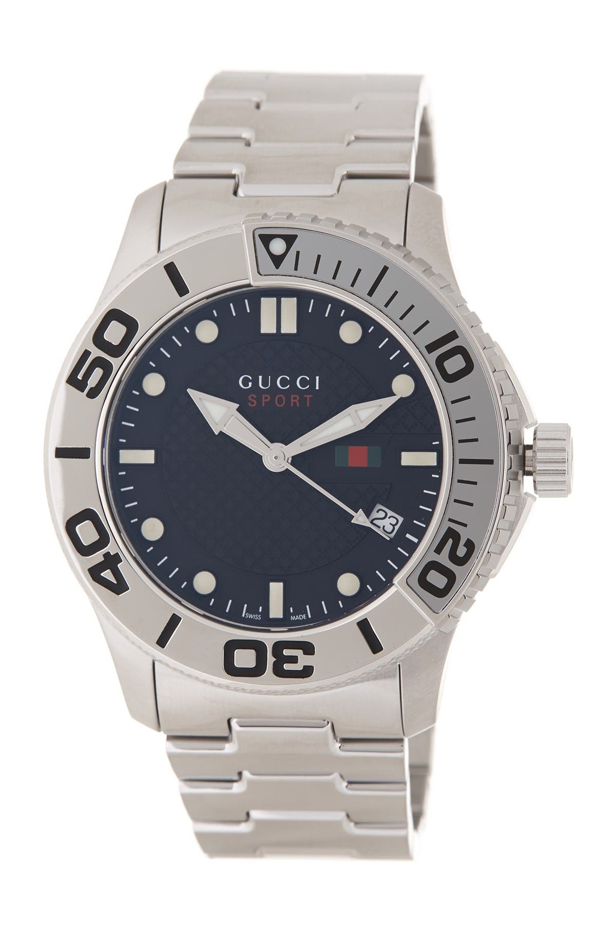 Image of GUCCI G-Timeless Men's Sport Watch, 45mm