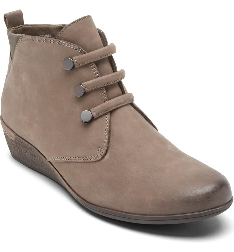 ROCKPORT COBB HILL Devyn Chukka Bootie, Main, color, STONE