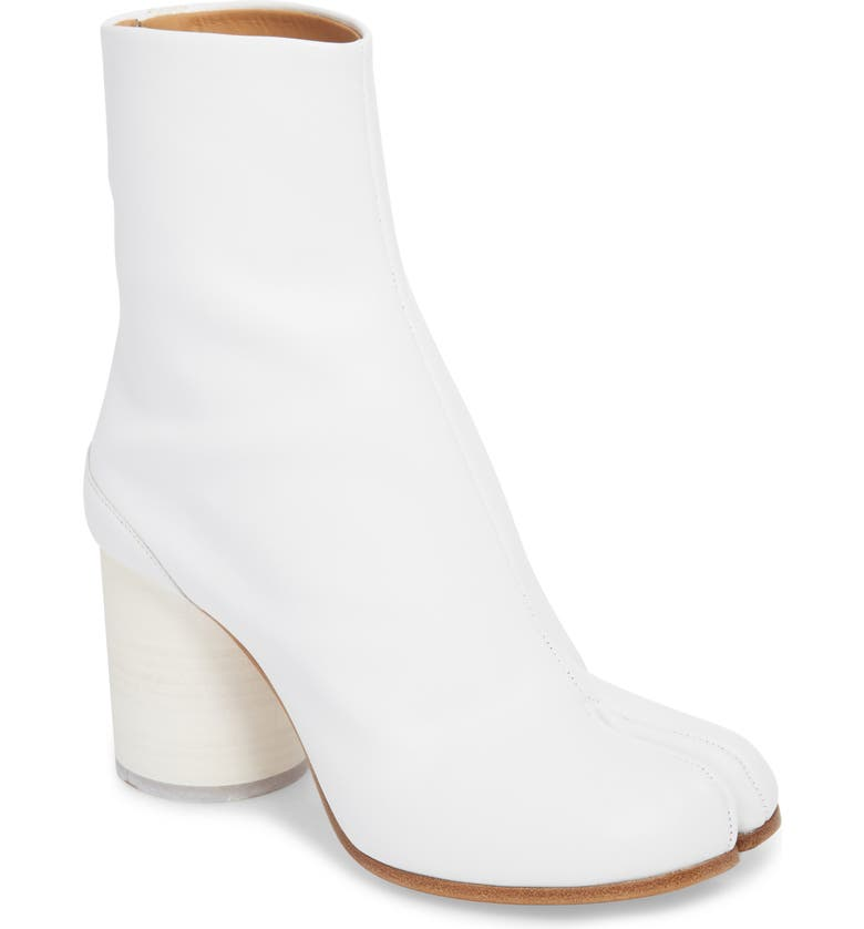 MAISON MARGIELA Tabi Boot, Main, color, WHITE