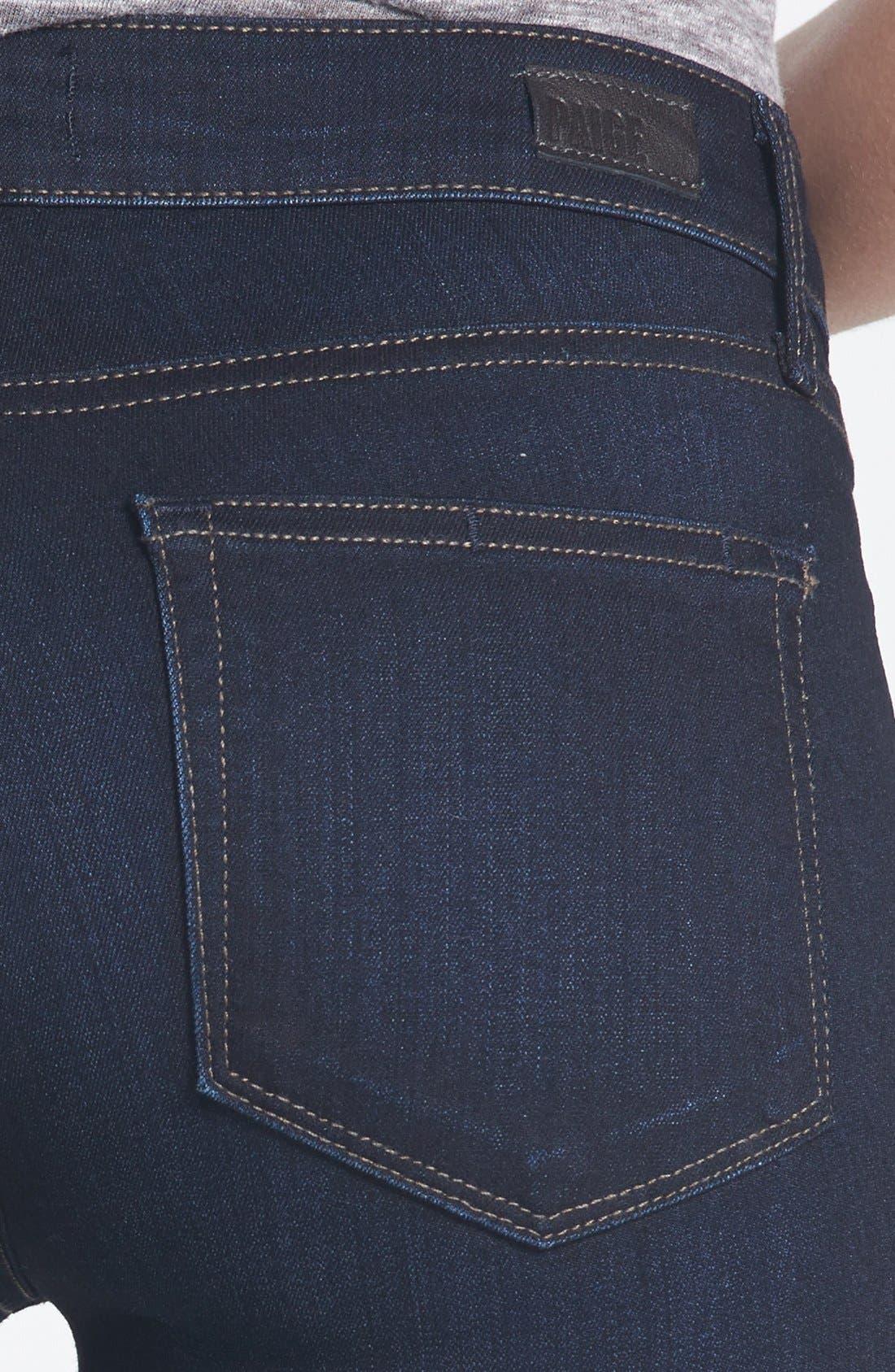 ,                             'Transcend - Skyline' Skinny Jeans,                             Alternate thumbnail 4, color,                             MONA