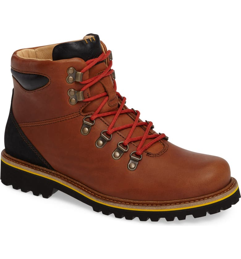 SAMUEL HUBBARD Mt. Tam Hiking Boot, Main, color, SADDLEBAG TAN LEATHER