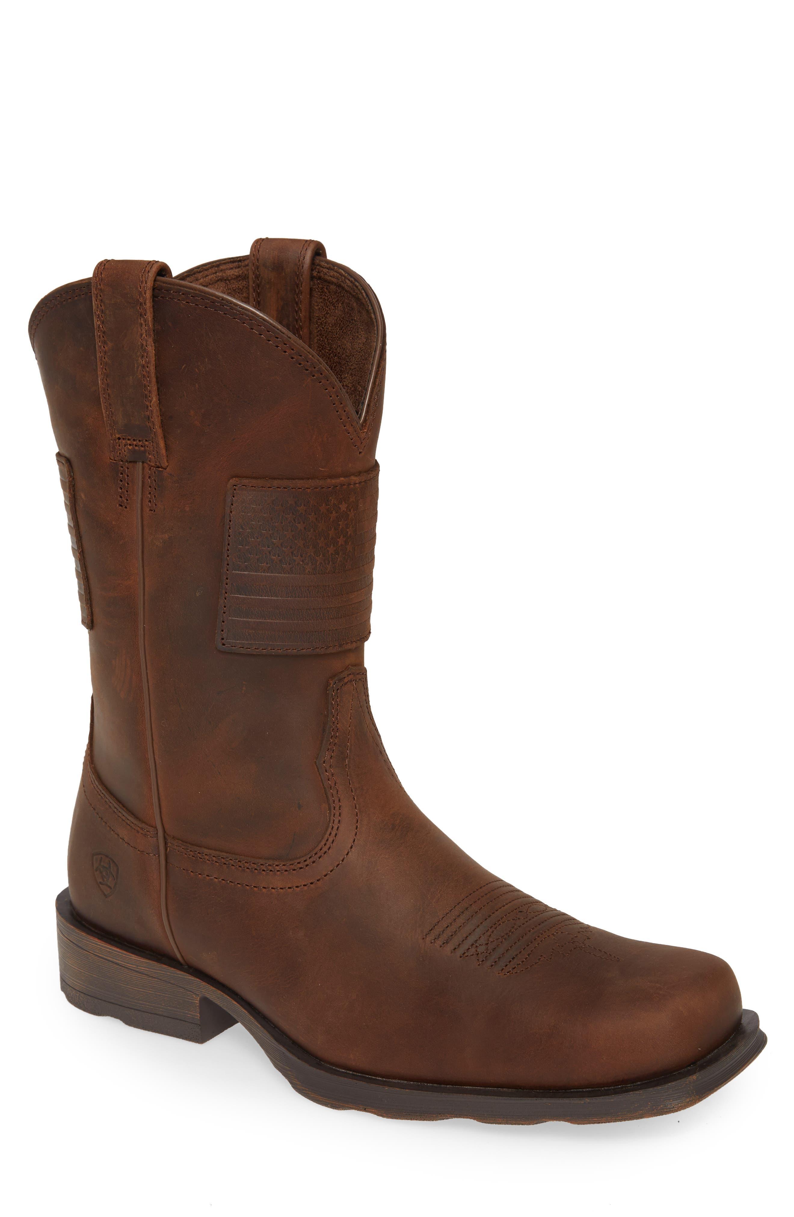 Rambler Patriot Cowboy Boot