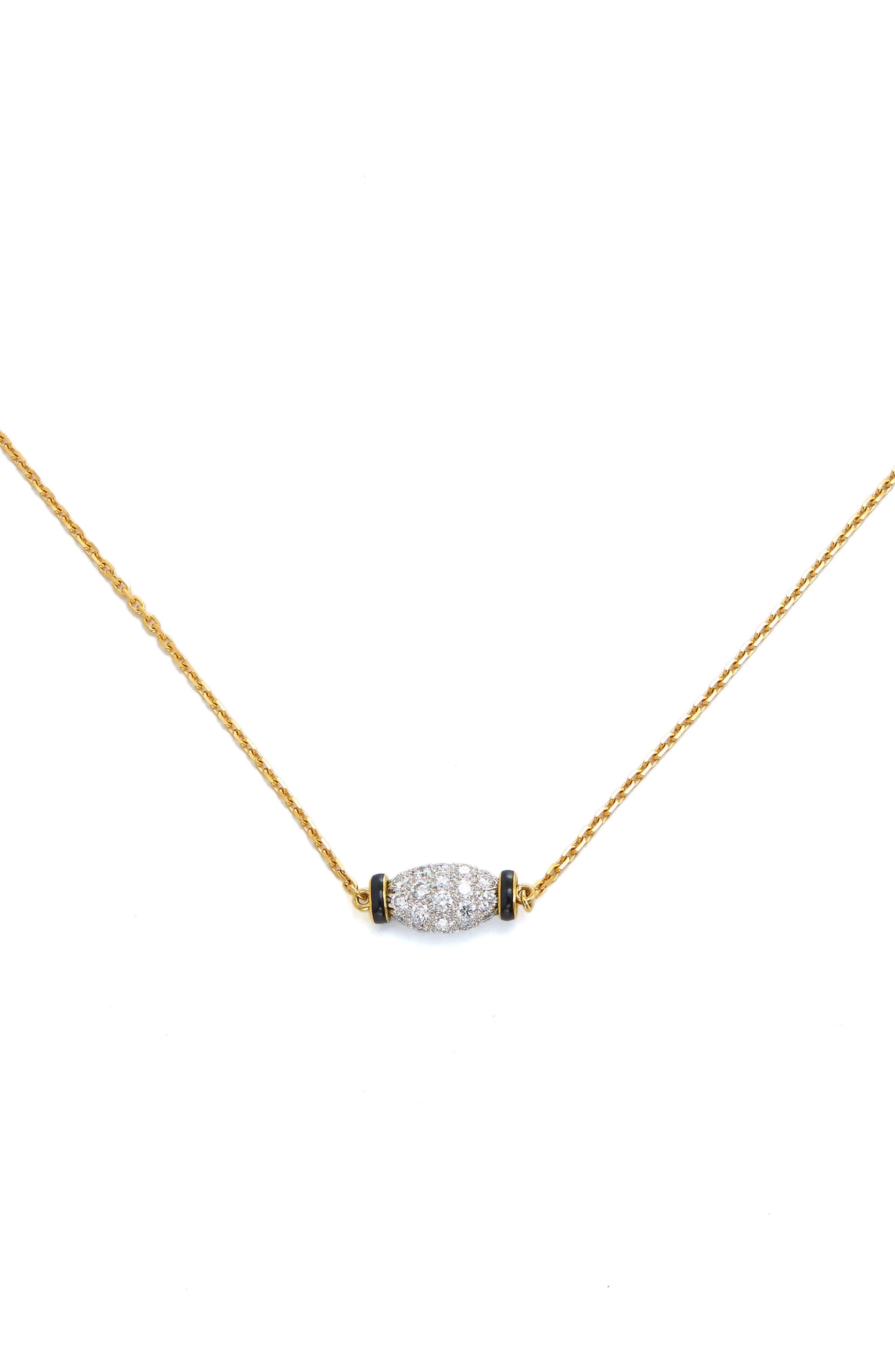 Motif Night Cap Pendant Necklace