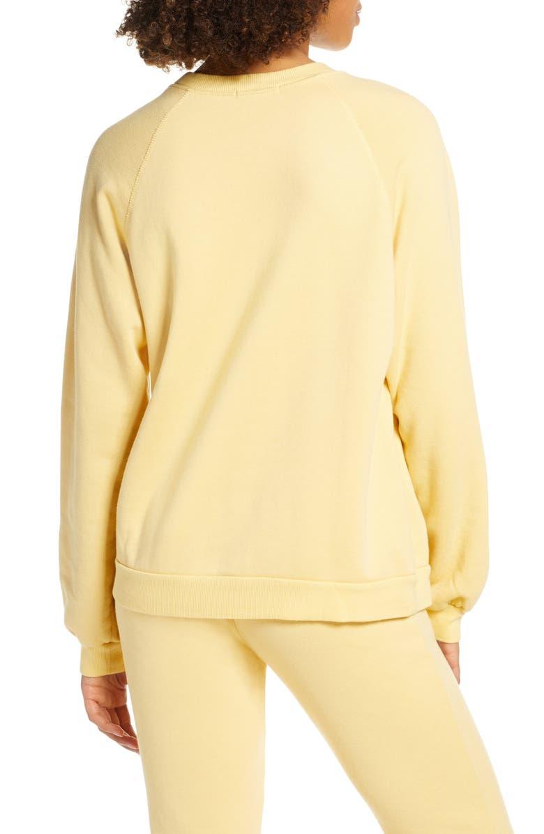 RAGDOLL Oversize Sweatshirt, Main, color, YELLOW