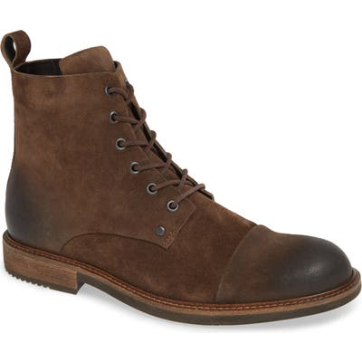 Ecco Kenton Artisan Cap Toe Boot, Brown