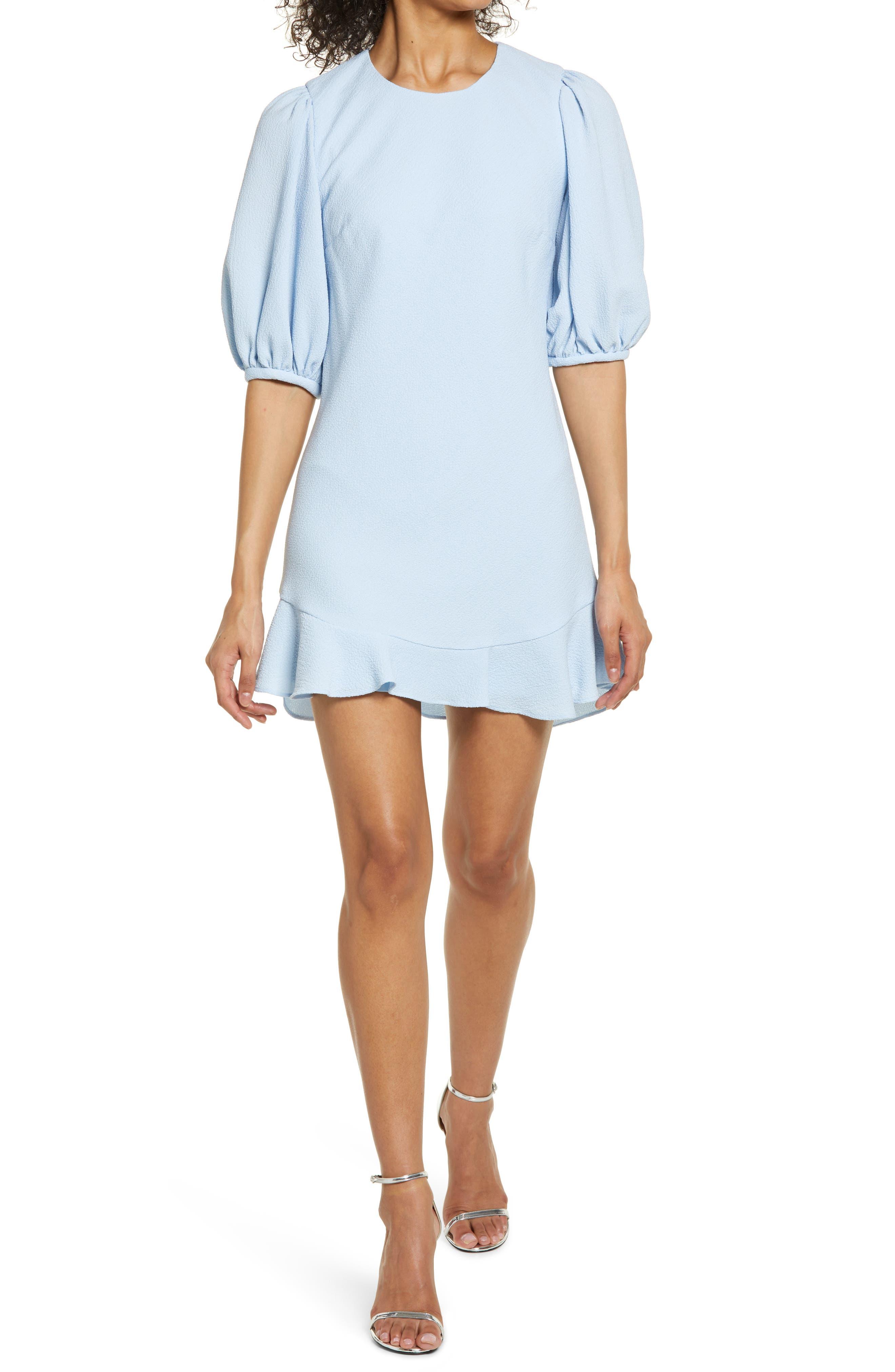 Morello Puff Sleeve Minidress
