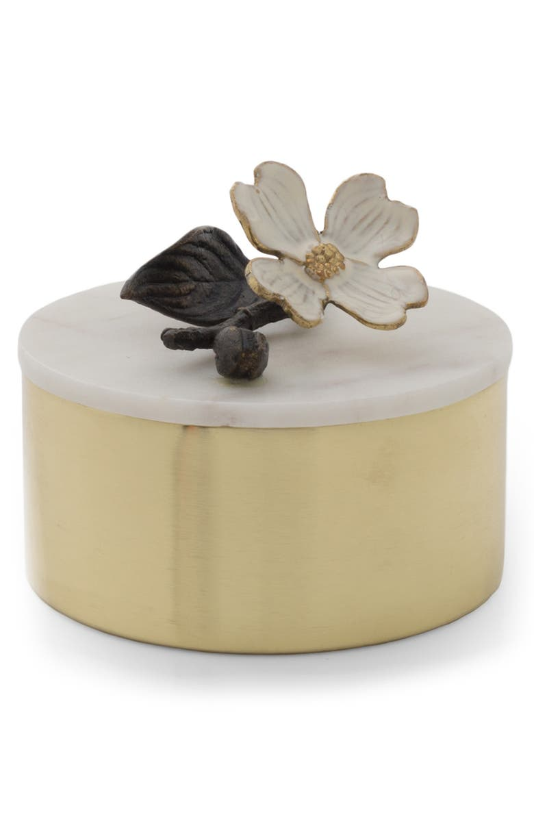 MICHAEL ARAM Dogwood Round Lidded Box, Main, color, 710