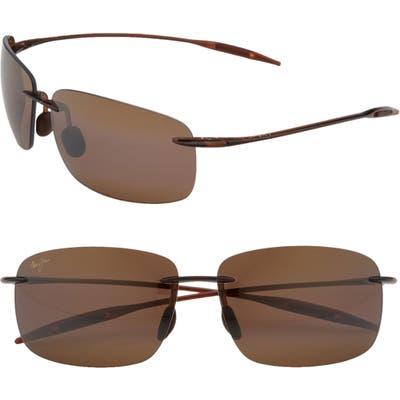 Maui Jim Breakwall 6m Polarizedplus2 Rimless Sunglasses -