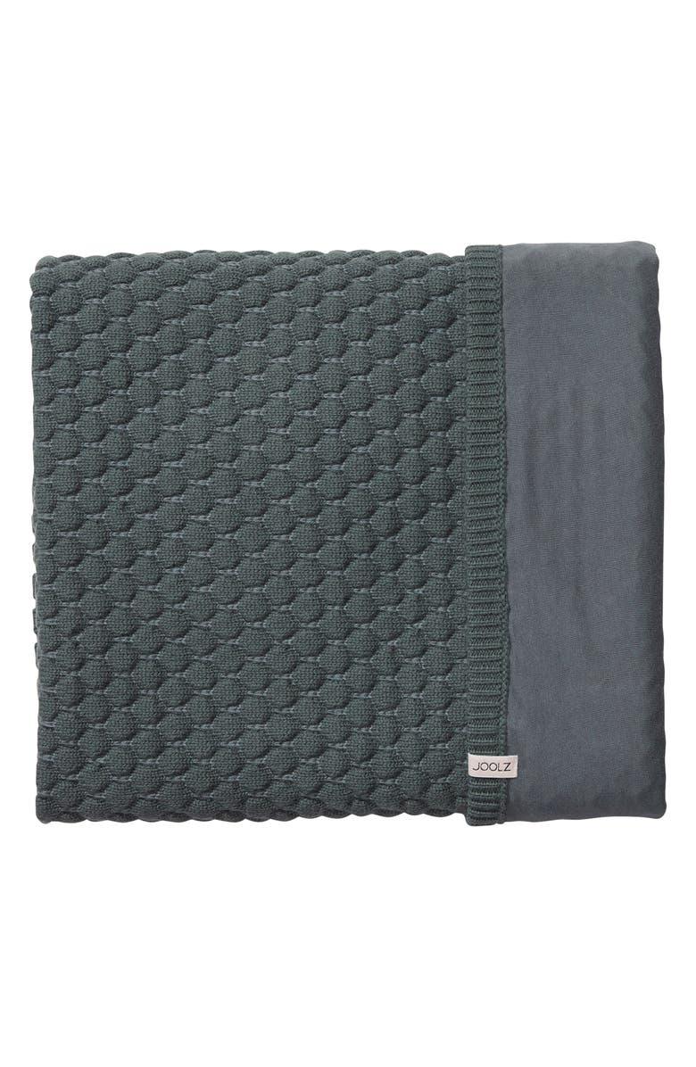 JOOLZ Essentials Honeycomb Organic Cotton Blanket, Main, color, 020