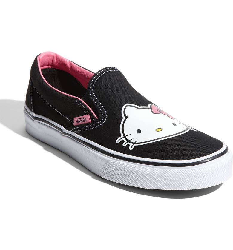 VANS 'Hello Kitty<sup>®</sup>' Slip-On Sneaker, Main, color, 001
