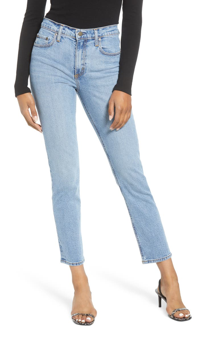 NOBODY DENIM True Slim Ankle Jeans, Main, color, INFLUENCE