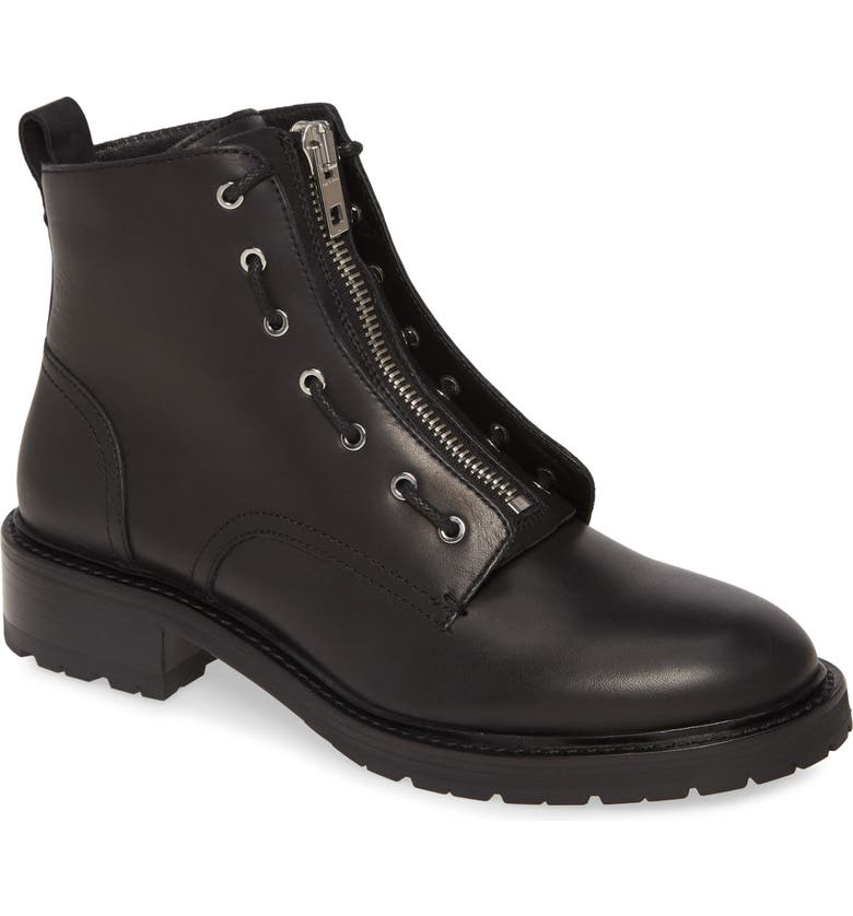 RAG & BONE Cannon Combat Boot, Main, color, BLACK