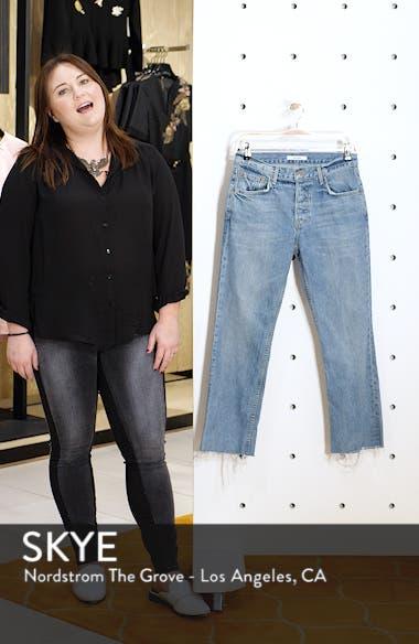 Tatum Crop Flare Jeans, sales video thumbnail