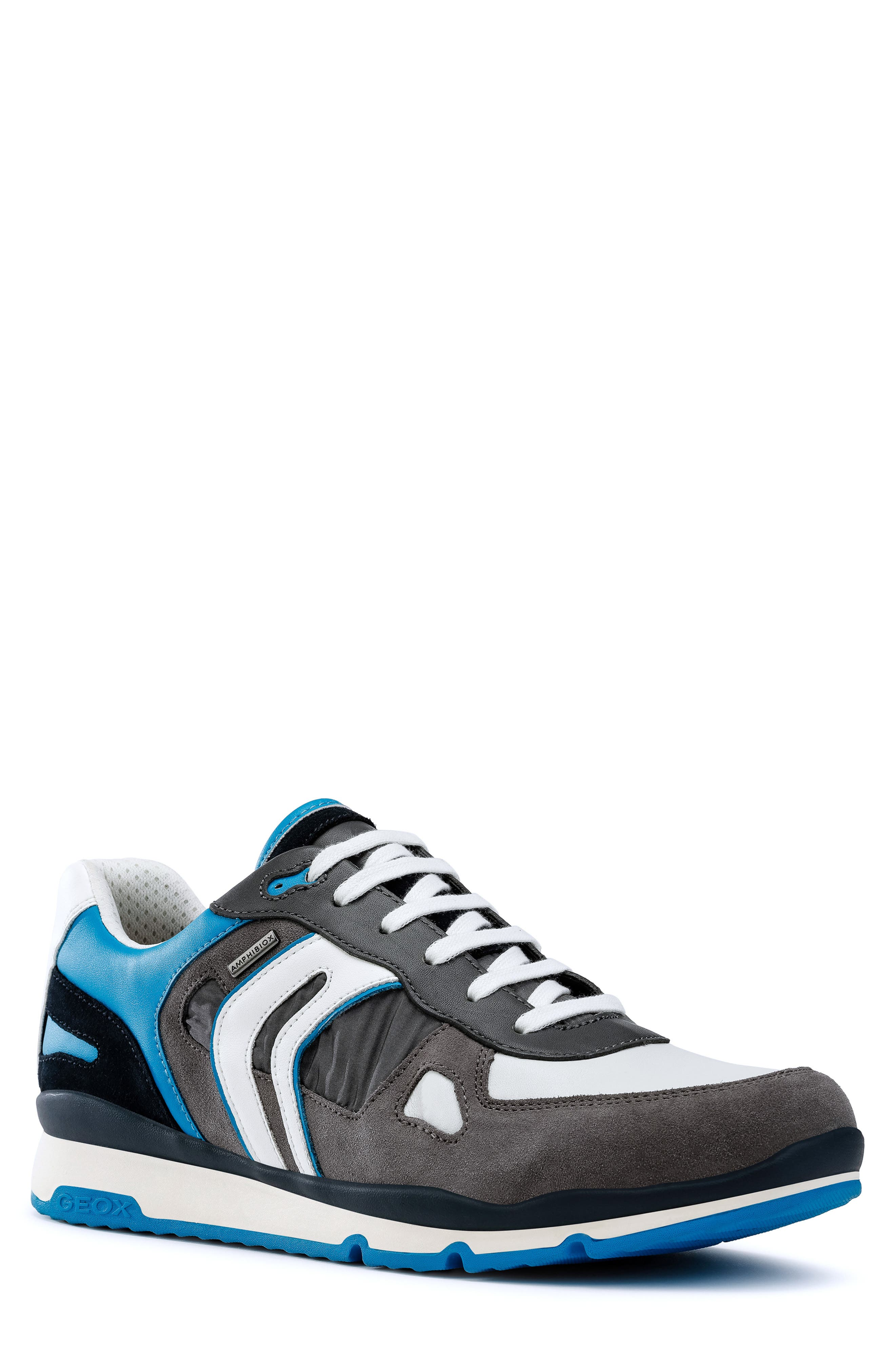 Geox Sandford Abx 2 Sneaker, Grey