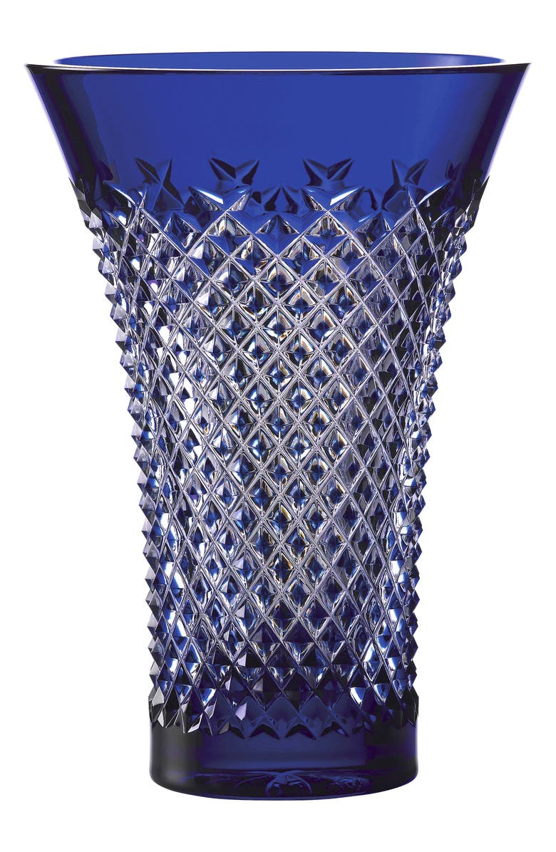 WATERFORD Treasures of the Sea Alana Vase, Main, color, BLUE
