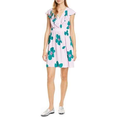 Kate Spade New York Grand Flora A-Line Dress, Pink