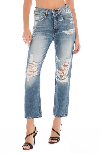 Image of FIDELITY DENIM Happy Daze Straight Leg Jeans