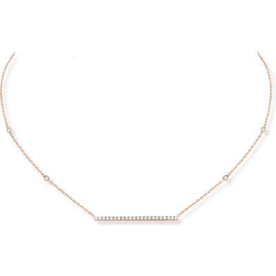 Messika Gatsby Diamond Bar Necklace