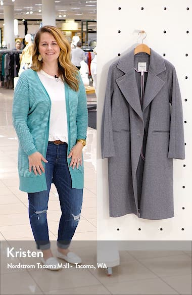Double Face Wool Blend Coat, sales video thumbnail