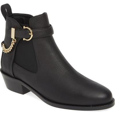 Salvatore Ferragamo Adrisie Chelsea Boot - Black