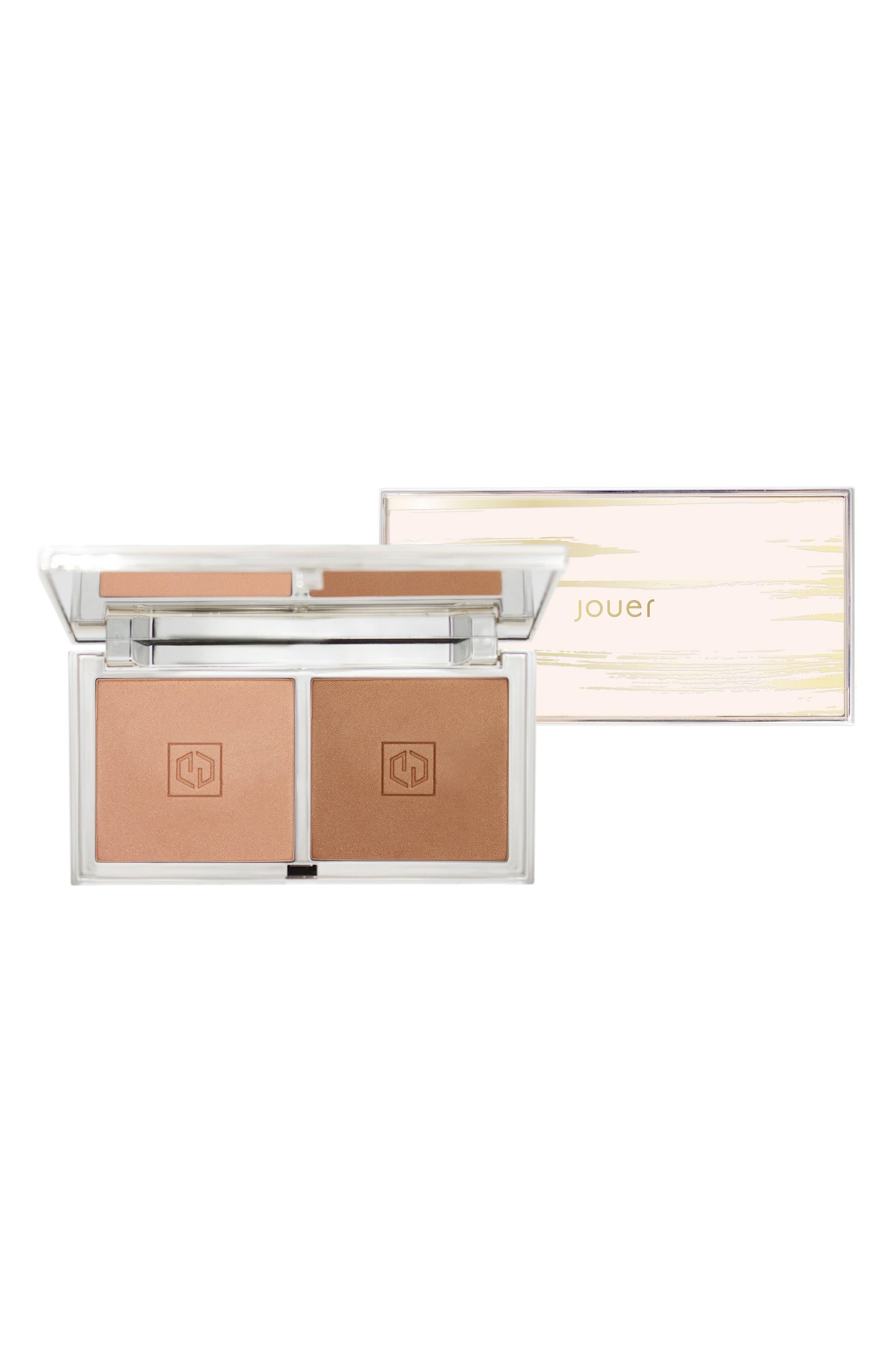 Sunswept Bronzer Duo Palette, Main, color, MEDIUM TO DEEP