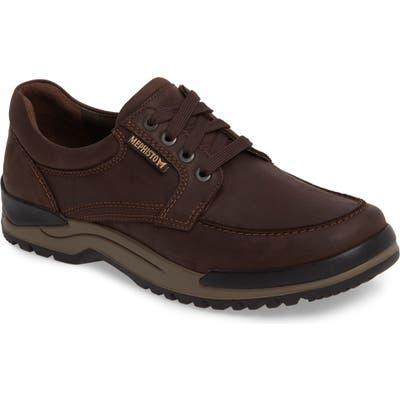 Mephisto Charles Waterproof Walking Shoe- Brown
