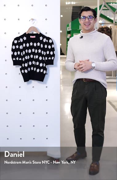 marker floral sweater, sales video thumbnail