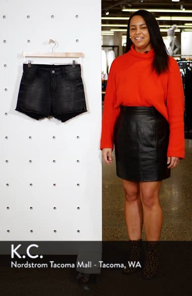 High Waist Denim Shorts, sales video thumbnail