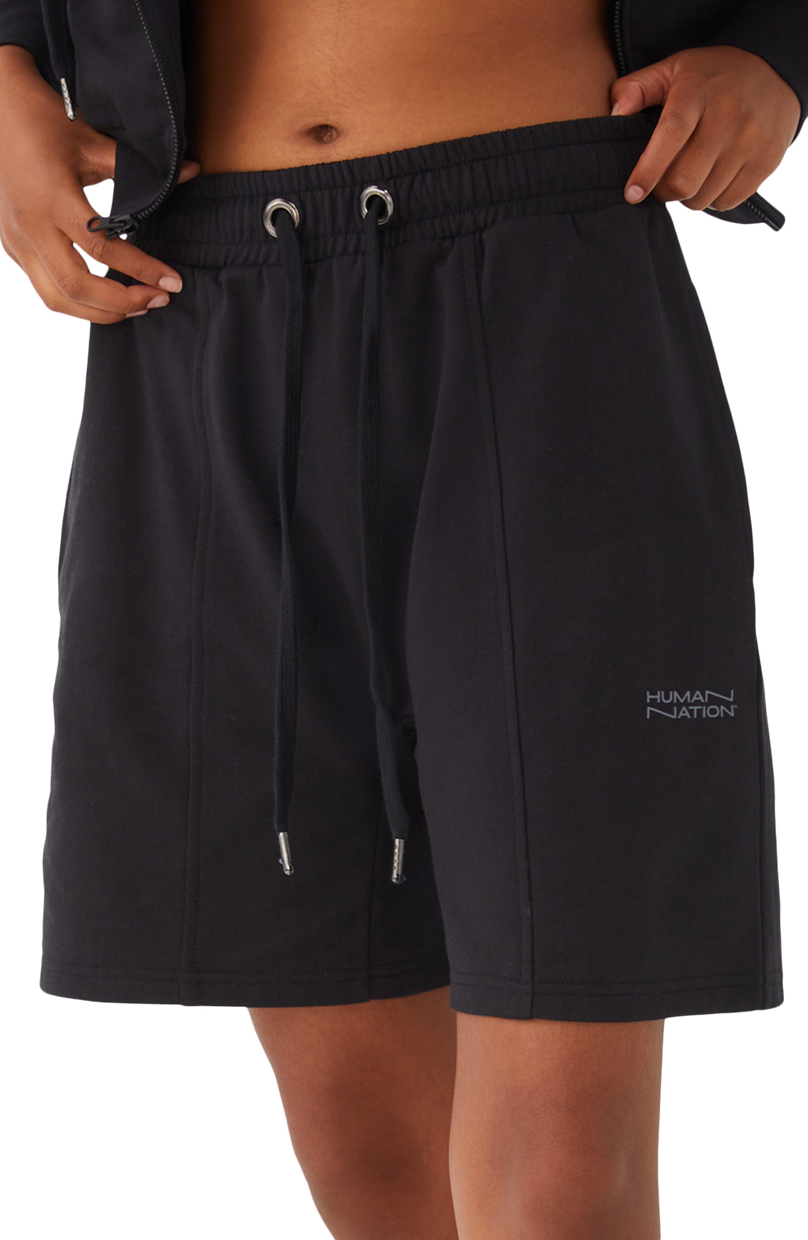 Gender Inclusive Seamed Organic Cotton Blend Shorts