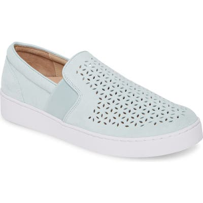 Vionic Kani Perforated Slip-On Sneaker, Blue