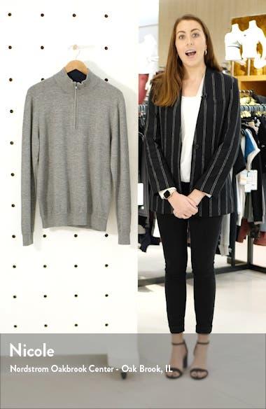 Sconset Half Zip Sweater, sales video thumbnail