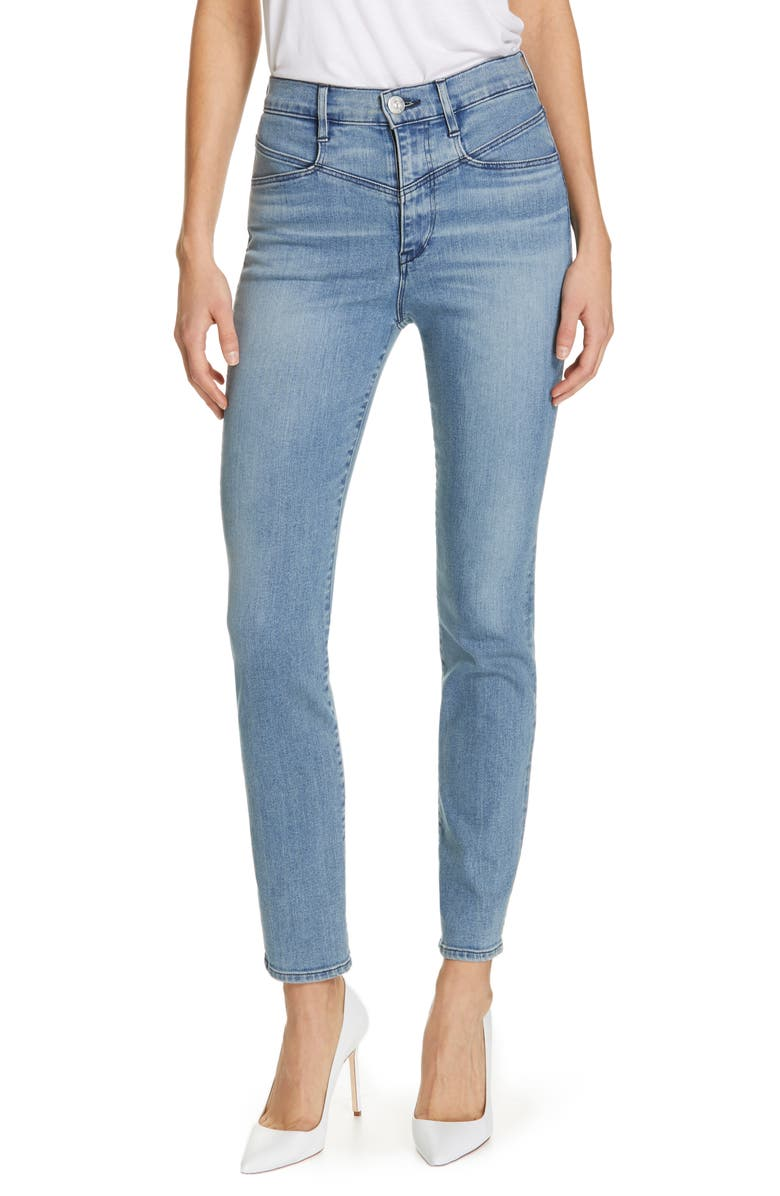 3X1 NYC Higher Ground Jesse Straight Jeans, Main, color, BASEL