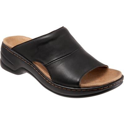 Trotters Nara Sandal, Black