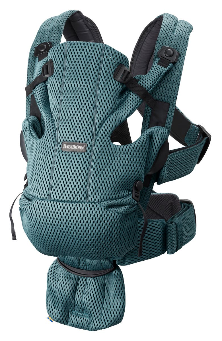 BABYBJÖRN Baby Carrier Free, Main, color, SAGE GREEN