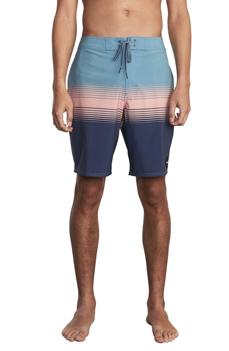 RVCA Sin Fade Board Shorts, Main, color, CASCADE BLUE