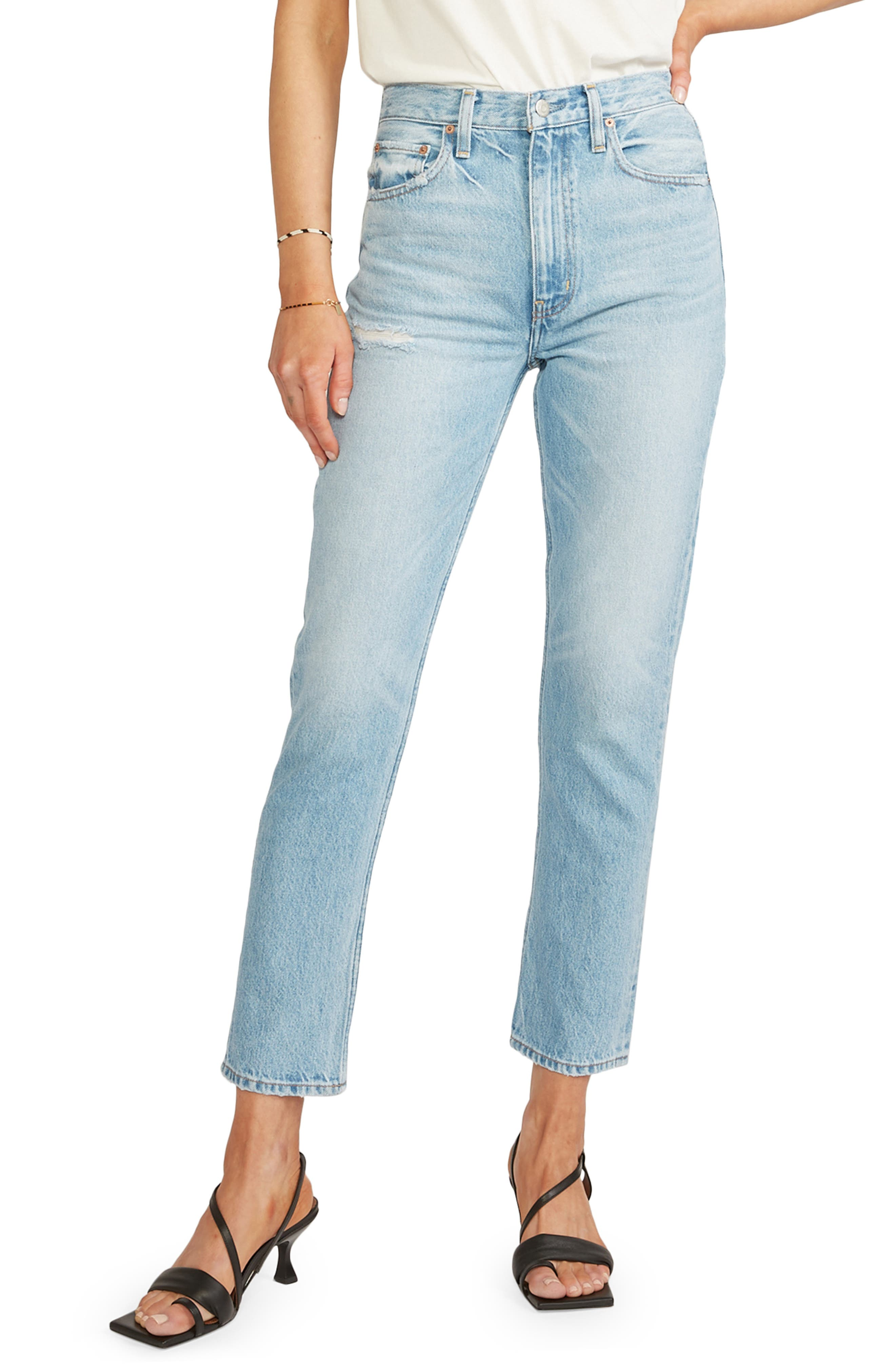 Women's Etica Finn Slim Straight Ankle Jeans