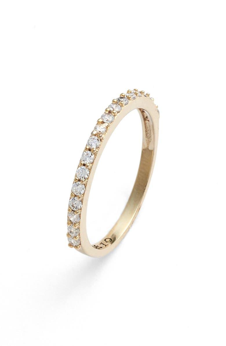 JUDITH JACK 'Rings & Things' Band Ring, Main, color, GOLD/ SILVER/ CRYSTAL