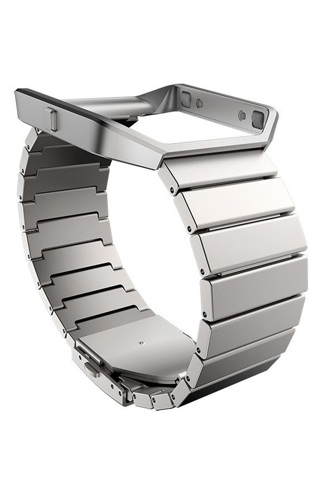 'Blaze' Steel Link Accessory Band & Frame