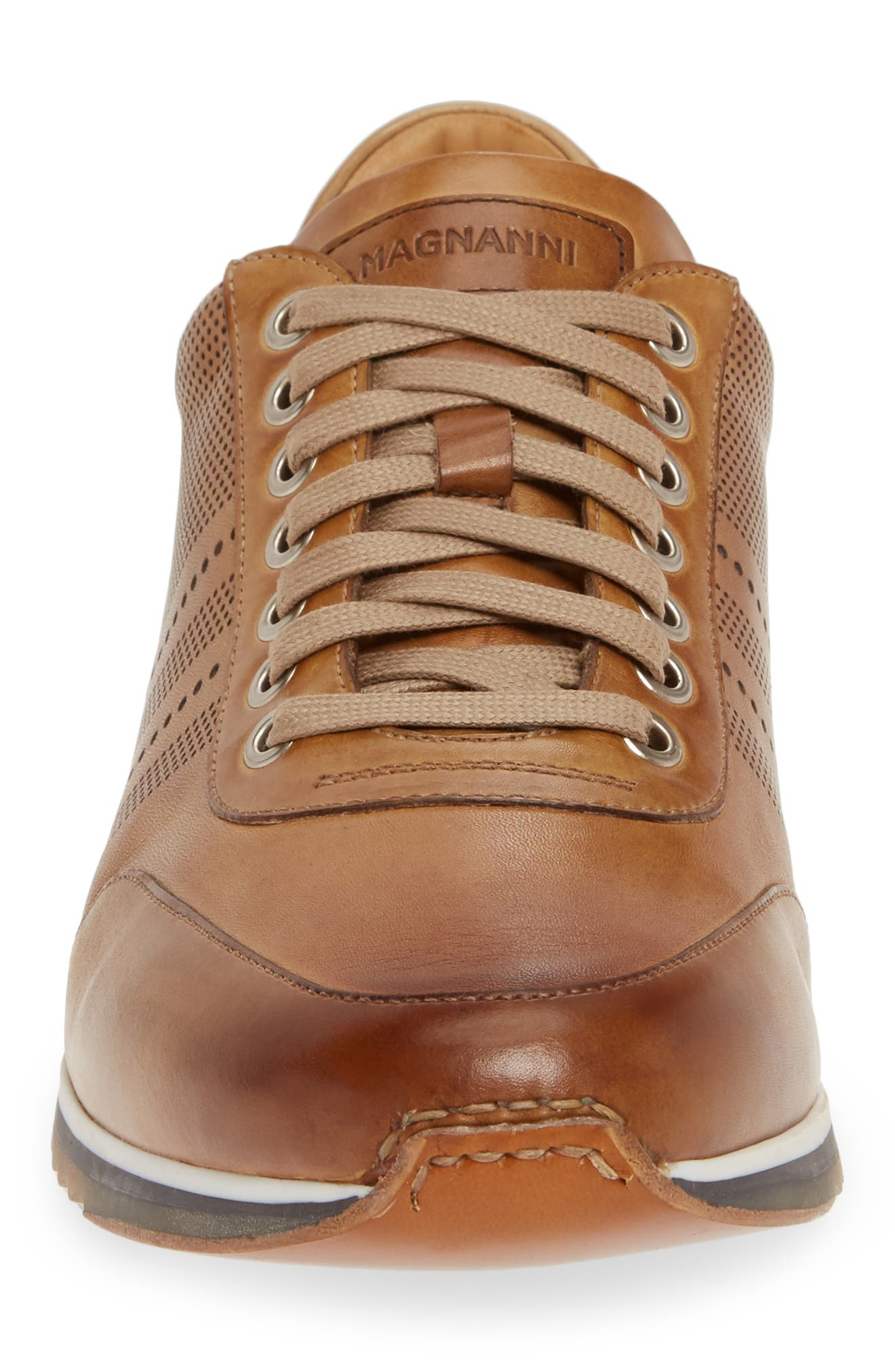 ,                             Merino Sneaker,                             Alternate thumbnail 4, color,                             TOBACCO LEATHER