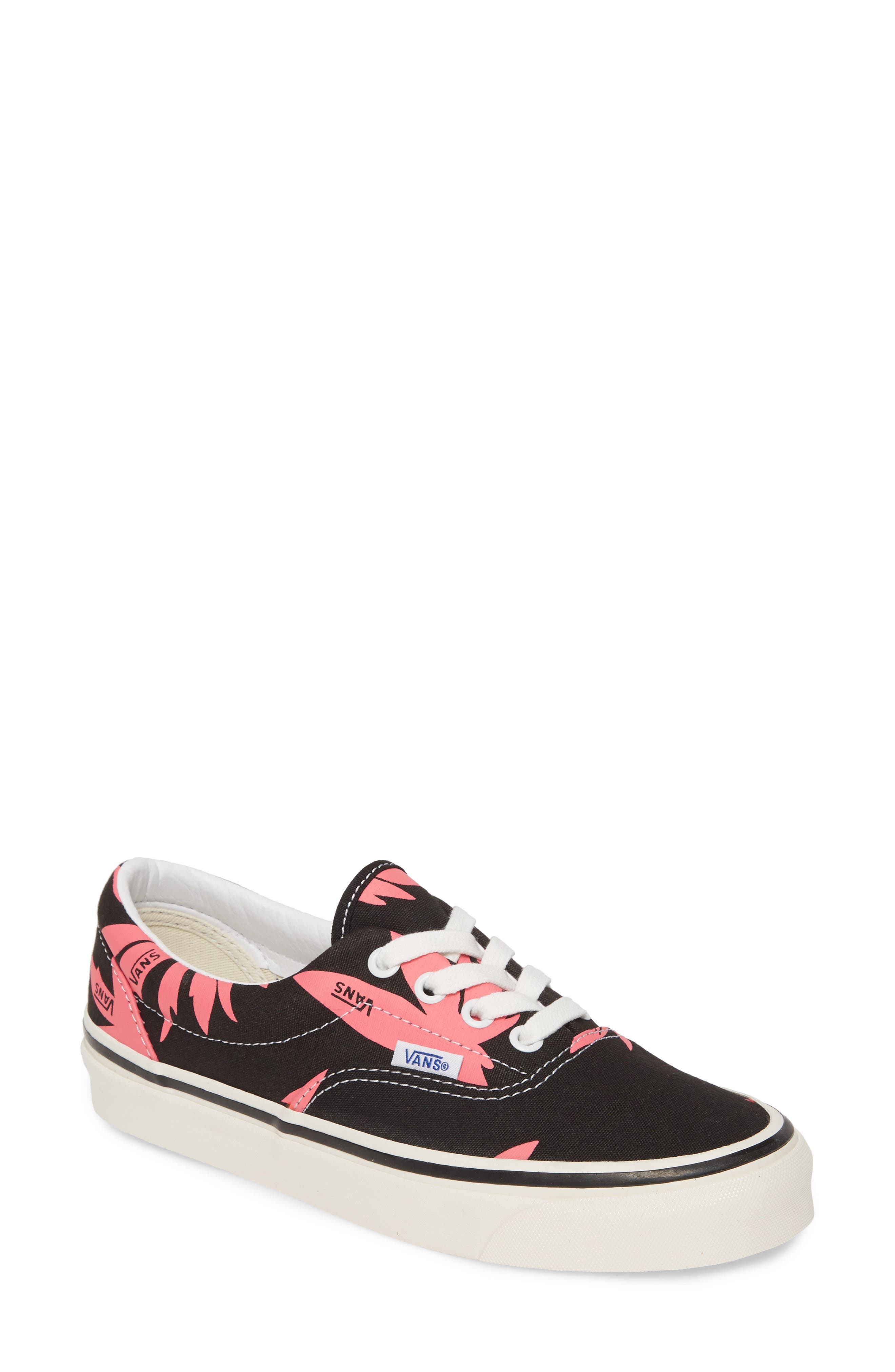 Vans Ua Era 95 Lace-Up Sneaker- Black