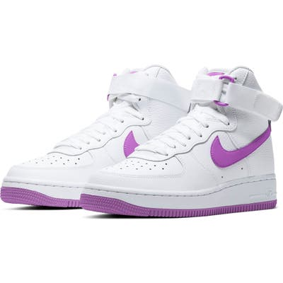 Nike Air Force 1 High Top Sneaker- White