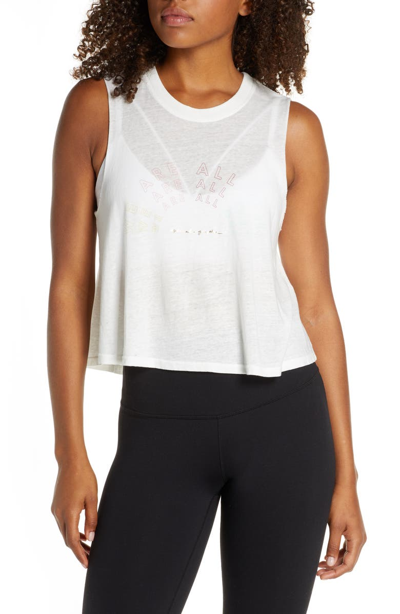 SPIRITUAL GANGSTER All One Crop Tank, Main, color, STONE