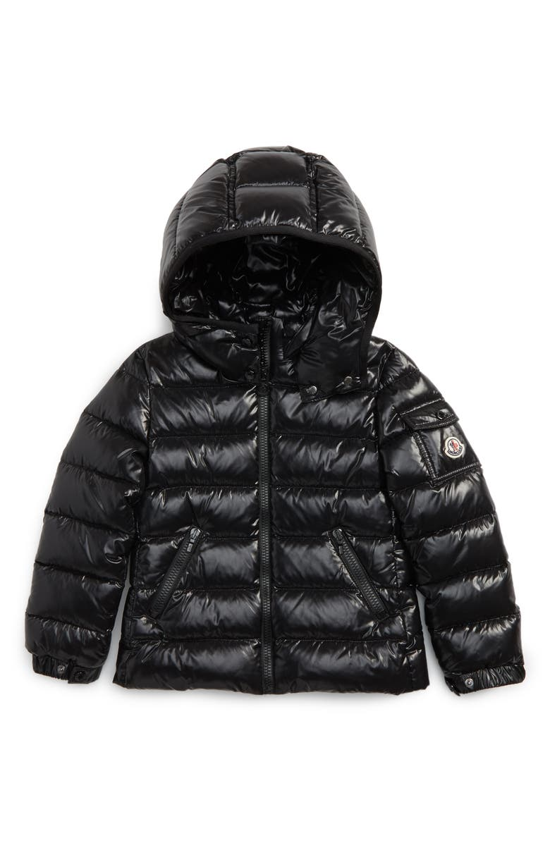 MONCLER Bady Hooded Down Jacket, Main, color, 001