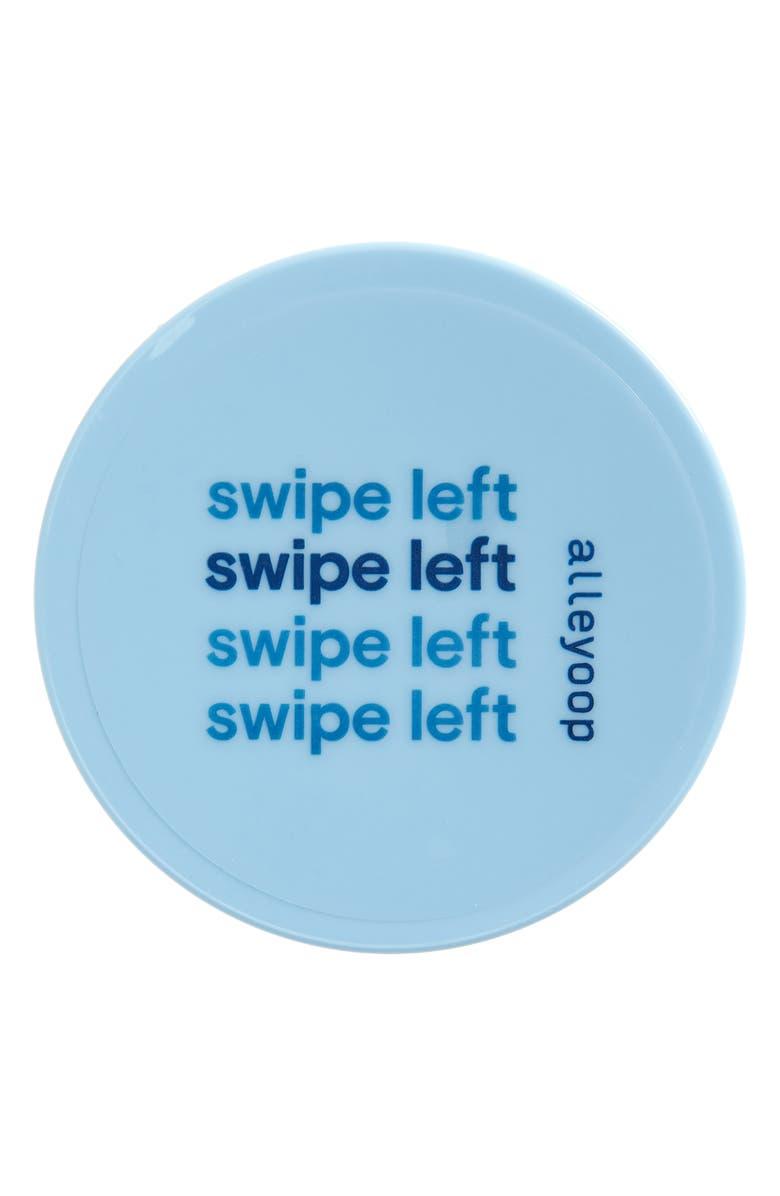 ALLEYOOP Swipe Left Acetone-Free Nail Polish Wipes, Main, color, BLUE