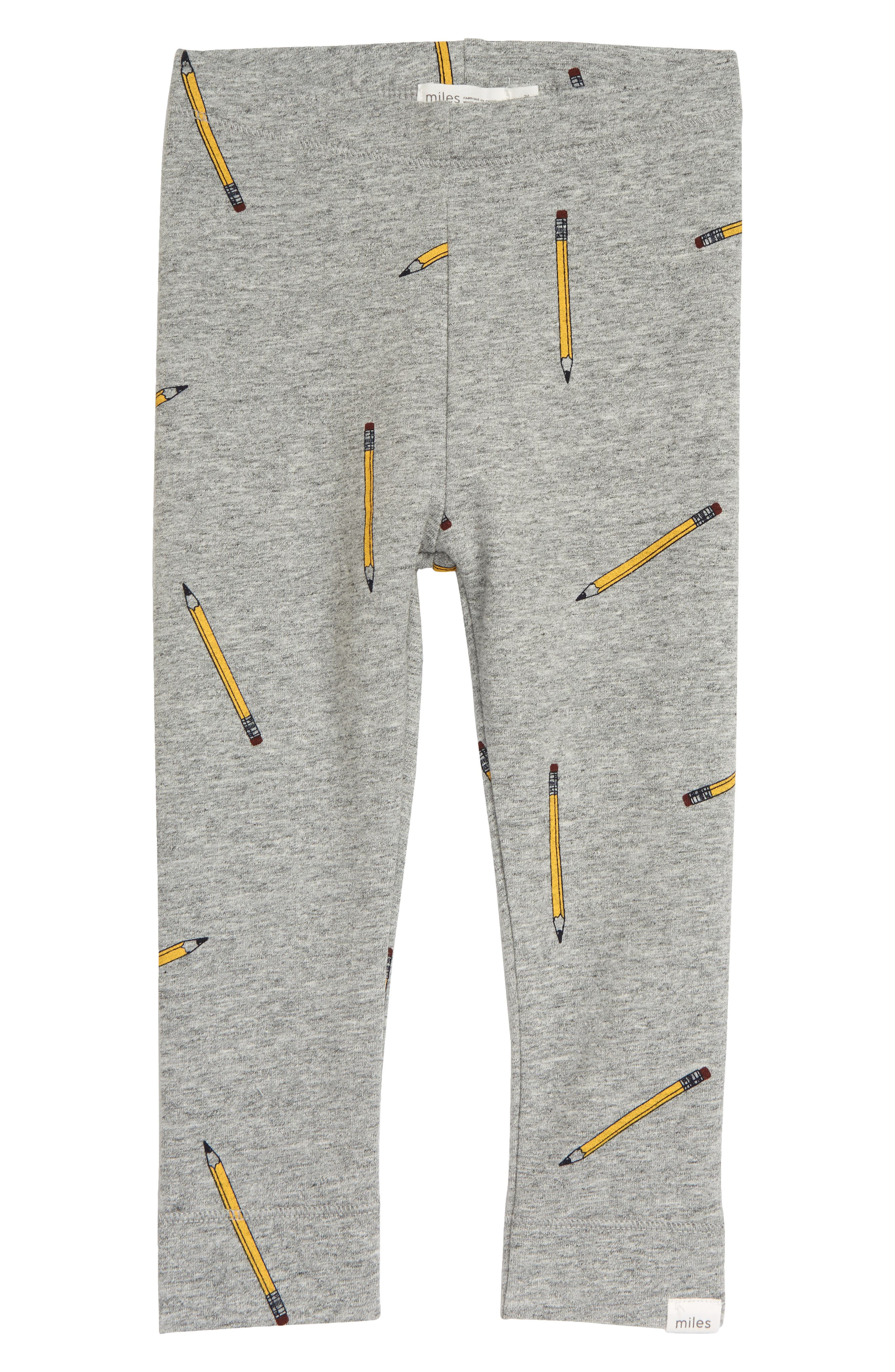 Playful pencils bring a sweetly studious vibe to these adorable heathered leggings. Style Name: Miles Baby Knit Leggings (Baby). Style Number: 6087353. Available in stores.